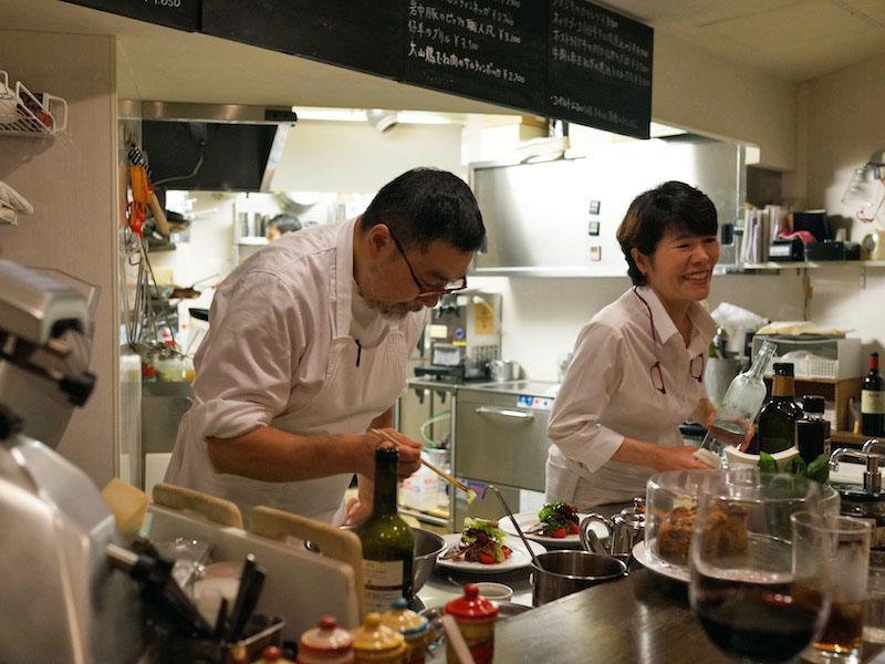 on kitchen