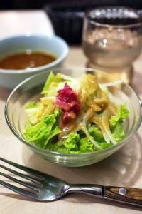 man salade