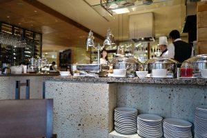 サンデーブランチ、カフェのバフェ