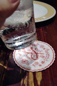 氷を舐めつつ味わうアイスコーヒー、亜麻亜亭