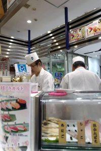 上野の粋魚(イナセ)3日続けて寿司を喰う